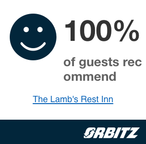 100 percent of guests recommend by Orbitz